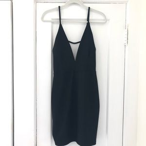 Missguided Black Bodycon Dress